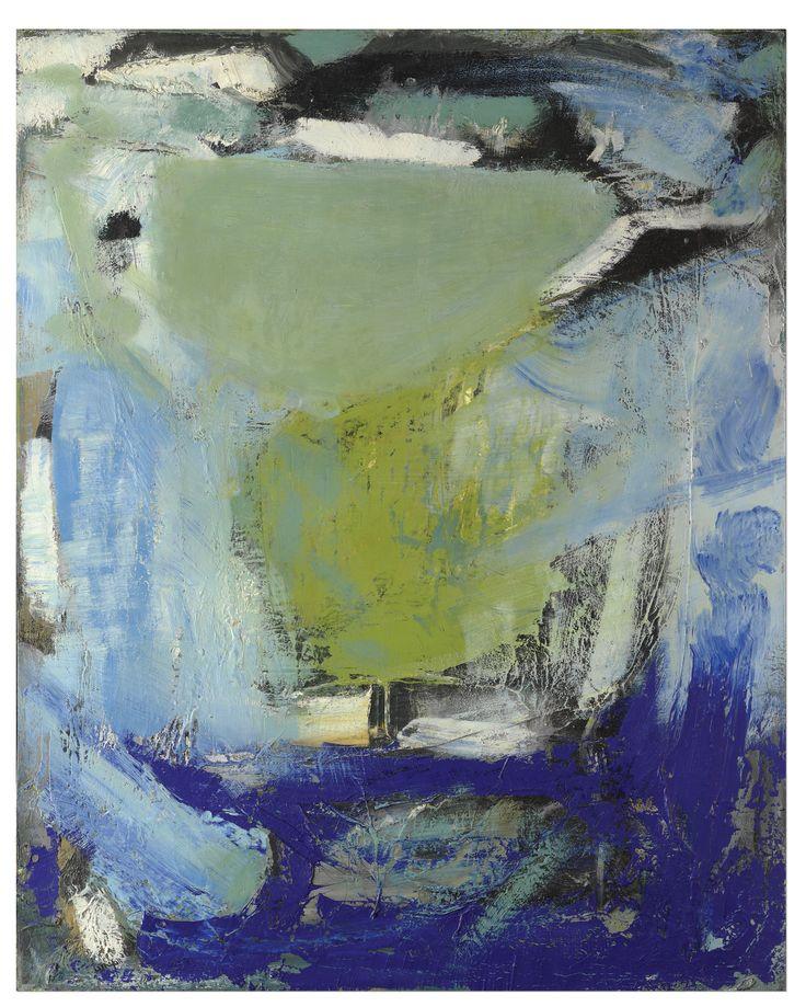 Peter Lanyon: Dorset Green.     Cornish painter. UK