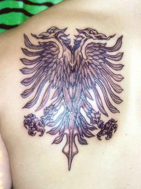 double headed eagle tattoo pinterest double headed eagle and eagles. Black Bedroom Furniture Sets. Home Design Ideas