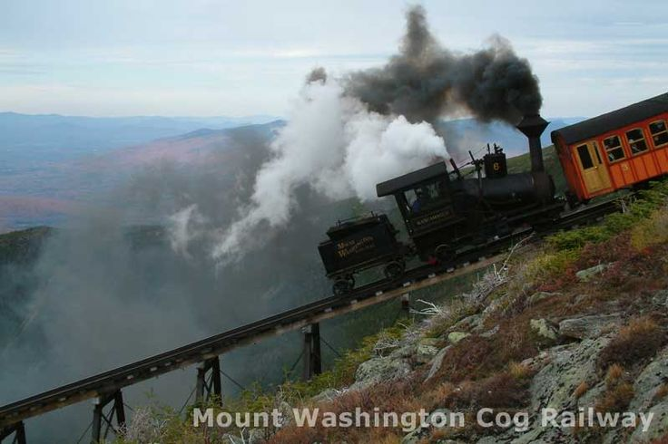 The Cog Railway in North Conway, NH: a slice of history that lives into the 21st century!