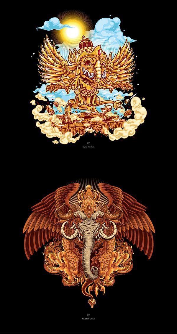 ARTULISTIWA on Behance Seni, Seni gelap, Ilustrator