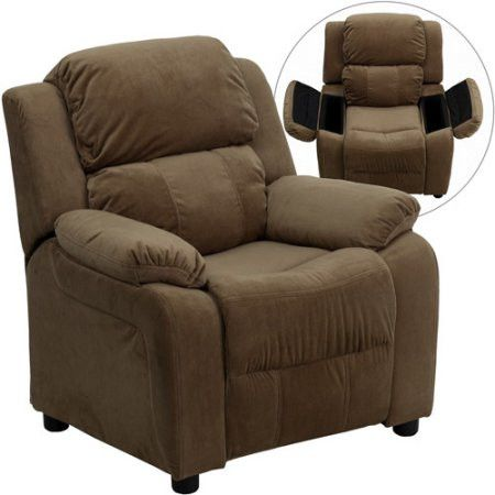 Kids Children Toddlers Upholstered Leather Fabric Recliner Chair with Storage Arms  sc 1 st  Pinterest & Best 25+ Toddler recliner chair ideas on Pinterest | Toddler ... islam-shia.org
