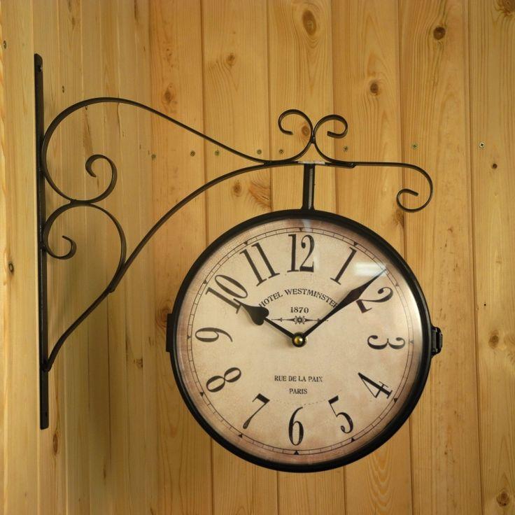 Oboustranné hodiny