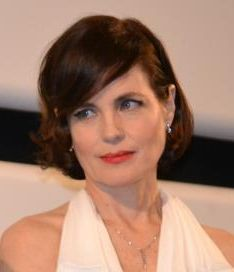 Elizabeth McGovern tijdens het Cannes filmfestival