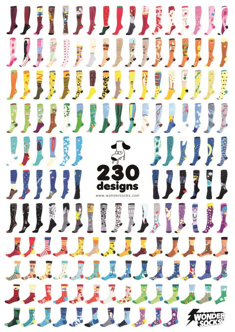 230 kinds of wondersocks