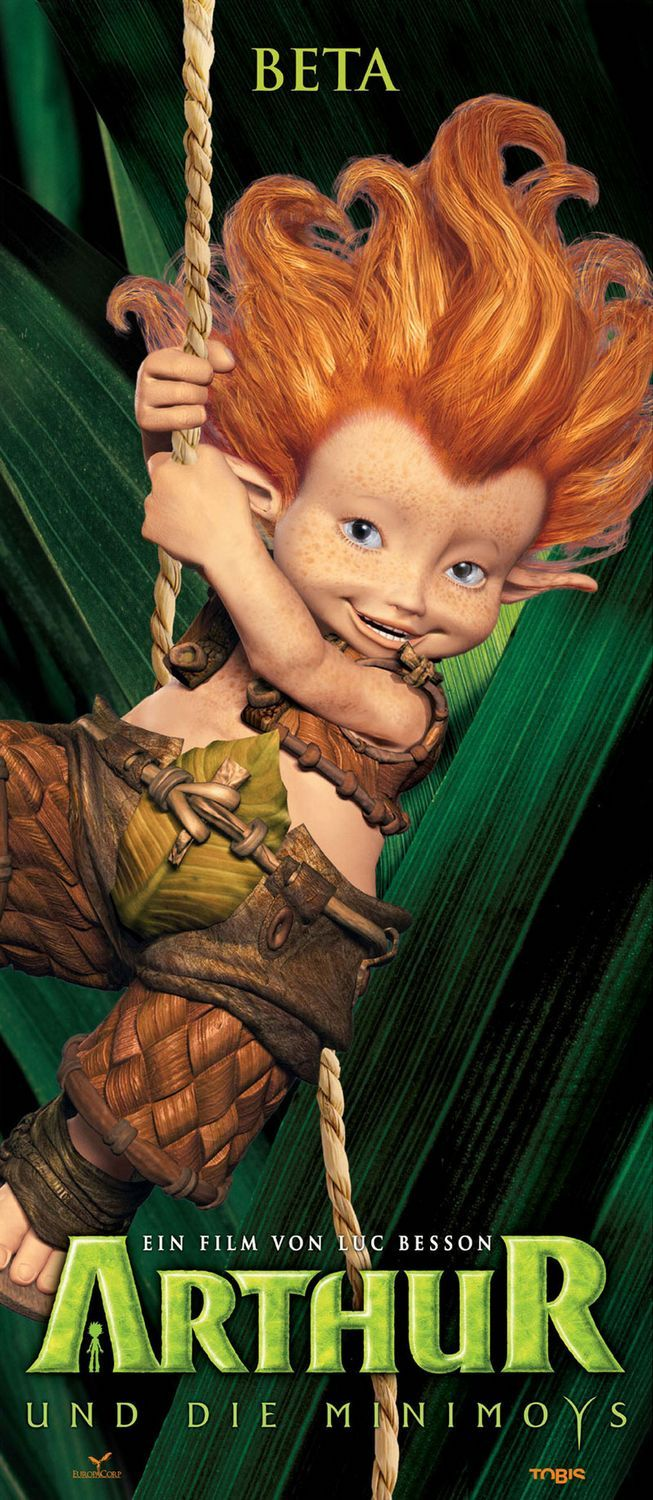 Arthur and the Invisibles , starring Freddie Highmore, Mia Farrow, Madonna, Ron Crawford. Ten-year-old Arthur, in a bid to save his grandfather's house from being demolished, goes looking for some much-fabled hidden treasure in the land of the Minimoys, a tiny people living in harmony with nature. #Animation #Adventure #Family #Fantasy