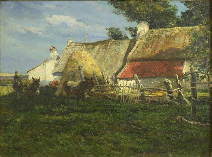 Charles Boland de Spa (1850-....) Titel: Terug naar de schuur - Artiquair
