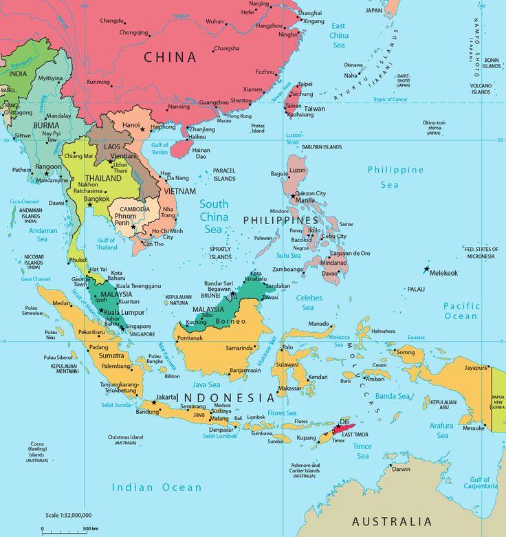 Islands Of Indonesia Map Quiz