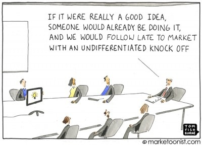 Here's another great Marketoonist cartoon - we've already had comments on The Orange Rag blog from people saying the artist 'must' have worked in legal software.