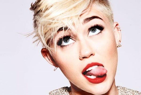 Miley Cyrus, a pop star, biography.