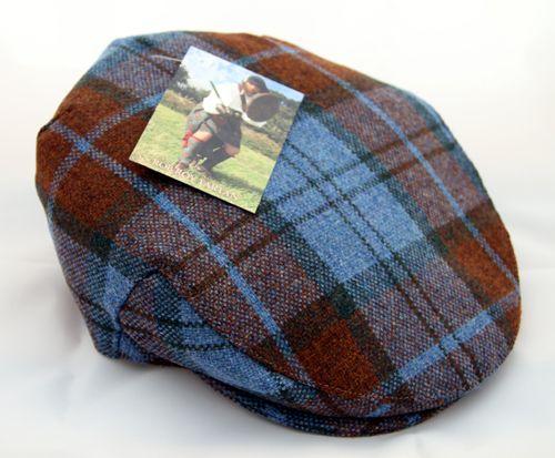 Rob Roy tartan mens flat cap, The Corries Official Website