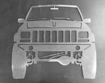 Jeep Cherokee XJ Front Ornamental Profile