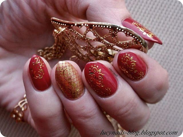 My Secret 3D Gel Effect  nr 05 Merry Red i naklejki od EDbeauty-Profesjonalne ozdoby do paznokci