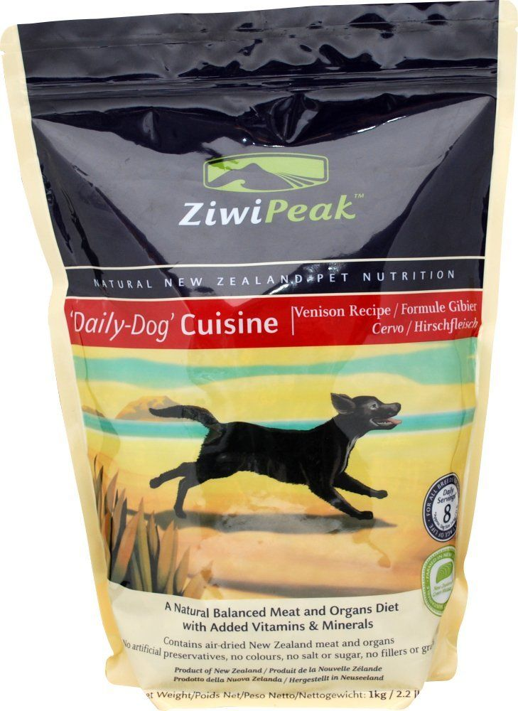 Ziwipeak offers a fresh natural raw meat just airdried