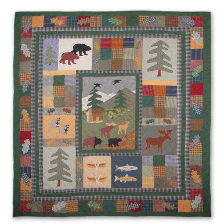 41 Best Images About Quilts Northwoods On Pinterest