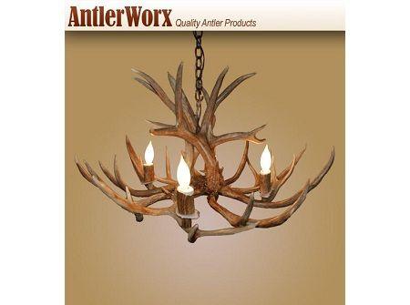 Best 25 Deer Antler Chandelier Ideas On Pinterest