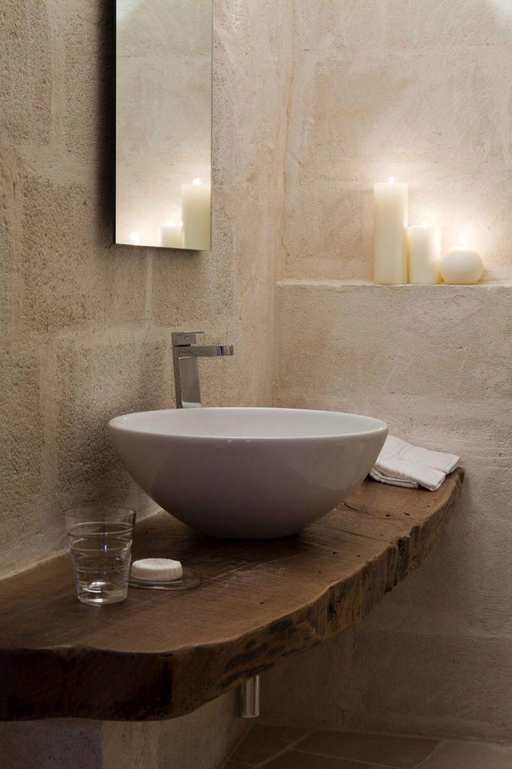 Raw And Modern Bathroom