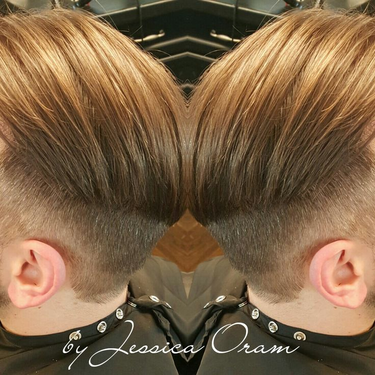 Mens undercut by Jessica Oram contact for appointment info@jessicaoramsalon.com