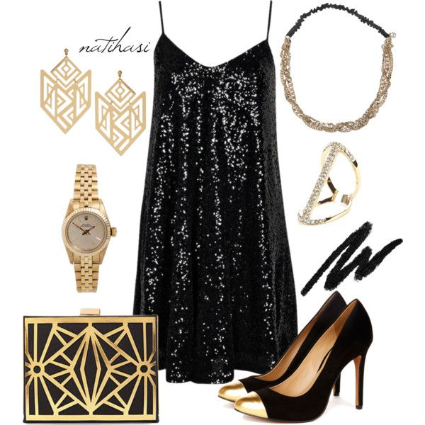 """""""The Great Gatsby Party Outfit"""" ... for when I actually have one of these parties!"""