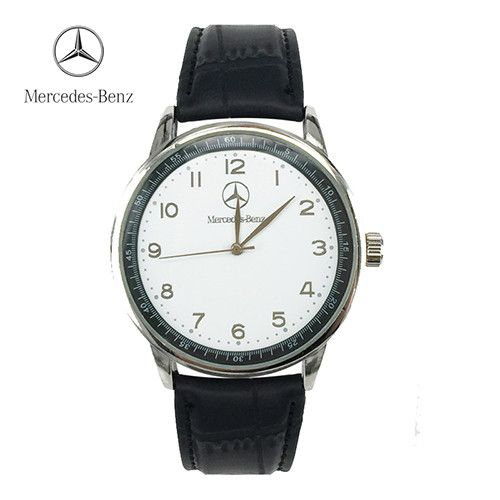 Mercedes Watch <b>Luxury Brand</b> Benz <b>Leather Men</b> Waterproof ...