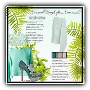 set with mint skirt 1