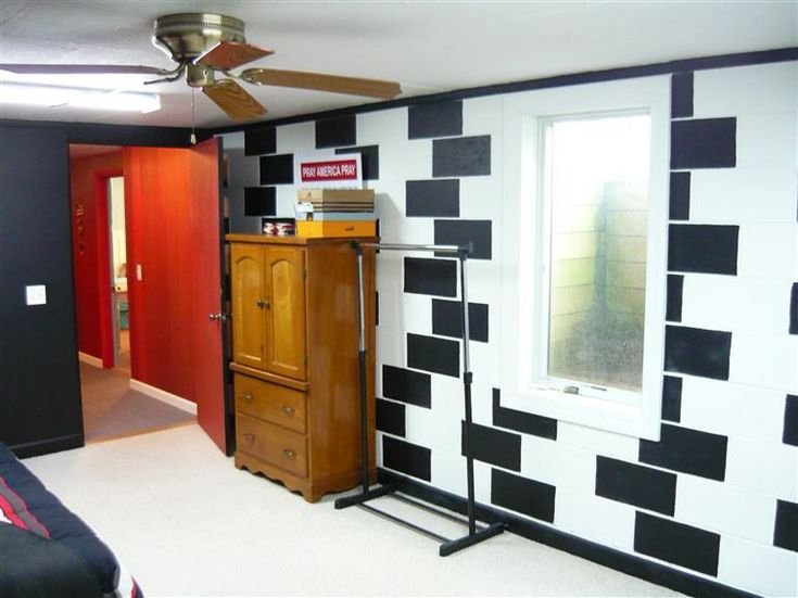 12 best ideas for painting cinder block wall images on for Cinder block basement