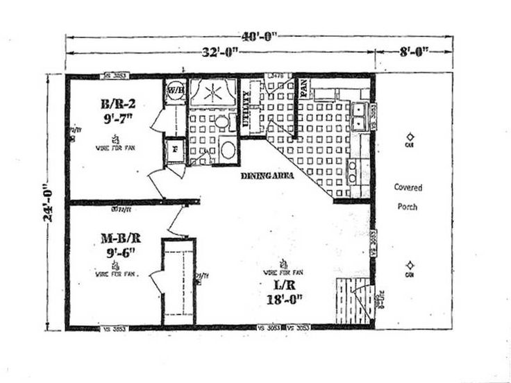 47 best floor plans images on pinterest for Double wide floor plans with basement