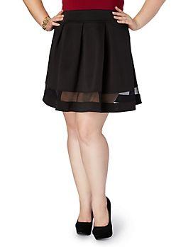 Plus Size Skater Skirts for Juniors | rue21