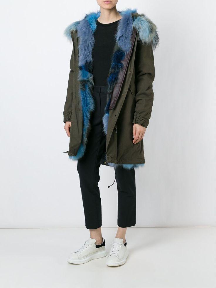Mr & Mrs Italy fox fur lined parka