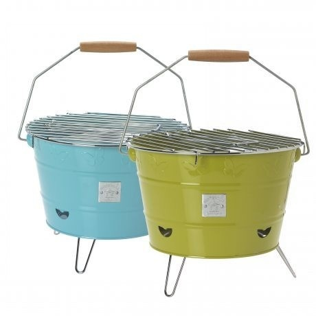 Retro Portable BBQs   Ideal For Glamping This Summer Or Music Festivals.€22.99  In Colors Blue, Green & Raspberry