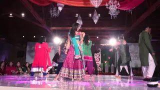 Bollywood Indian Hindi Film Dance Performance at Erar's Sangeet - YouTube