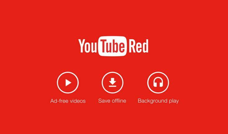 Youtube Red es el nuevo servicio de suscripción de Youtube que comenzará a funcionar el 28 de Octubre