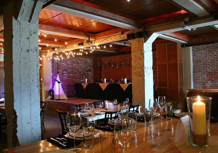 Brewery Wedding Industrial Wedding Reception Exposed Brick Wall Yellowead Brewery Edmonton