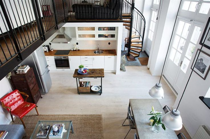 Industrial, Blog and Loft on Pinterest