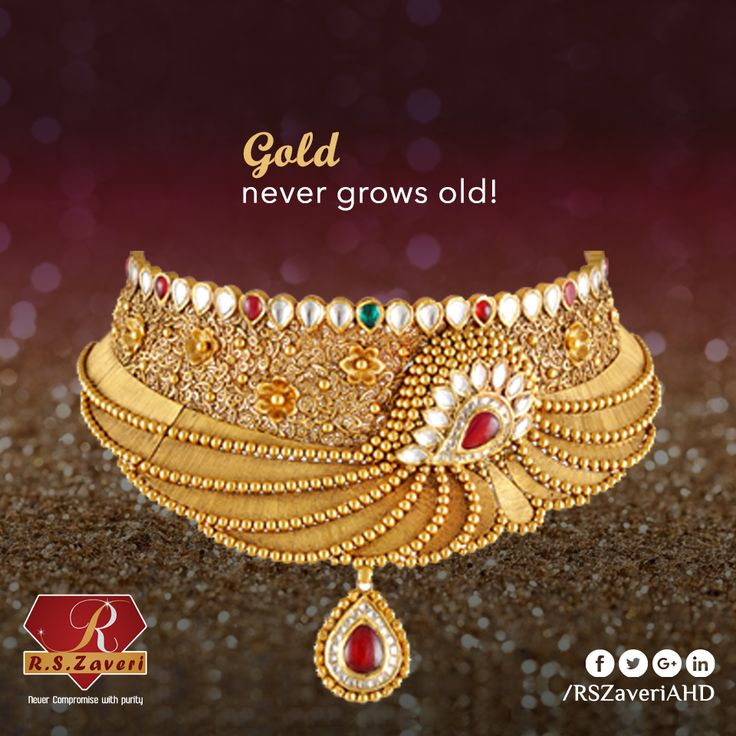 Gold never grows old! #RSZAVERI