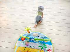 tummy-time clip-on gym by taf toys http://www.taftoys.com/tafproduct/tummy-time-clip-on-gym-g-11645/