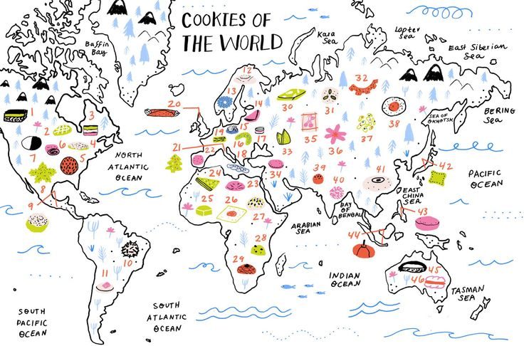 46 Cookie Recipes from All Over the World