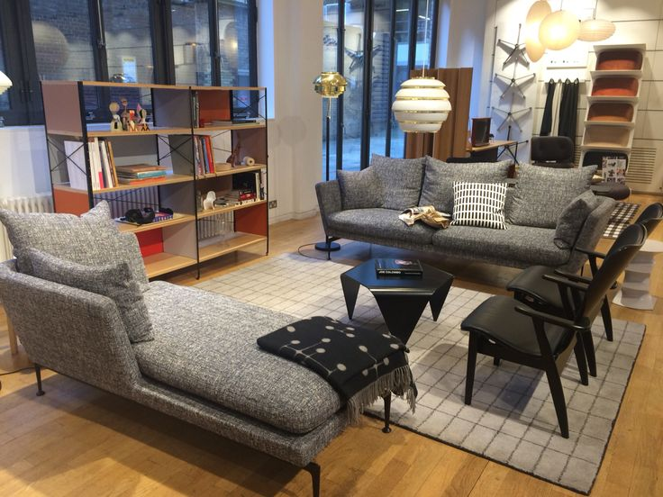 Suita sofa - Vitra store - but the chaise back is too short
