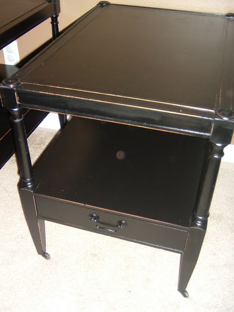 Antique Distressed End Tables - Facelift Furniture