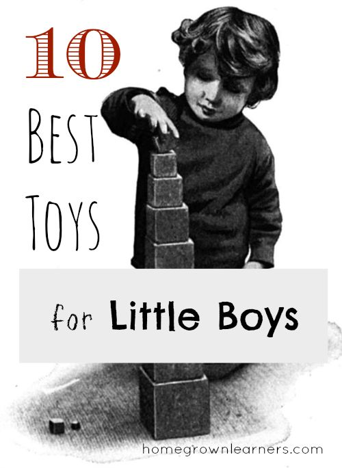 10 Best Toys For Little Boys - great list of toys for boys that don't involve electronics, some great birthday present ideas for my little guy :)