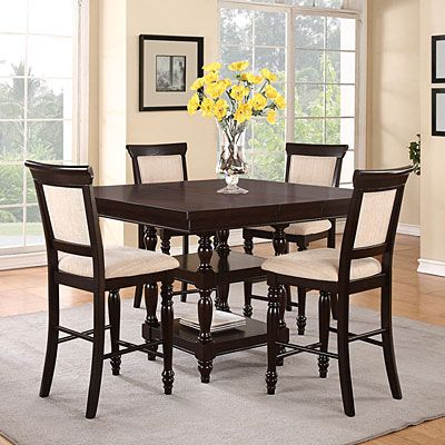 Cheap Gathering Table Dining Set At Big Lots With Layaway