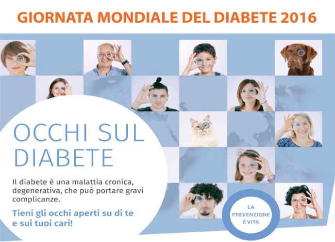 Giornata del Diabete, iniziative di prevenzione anche in Molise
