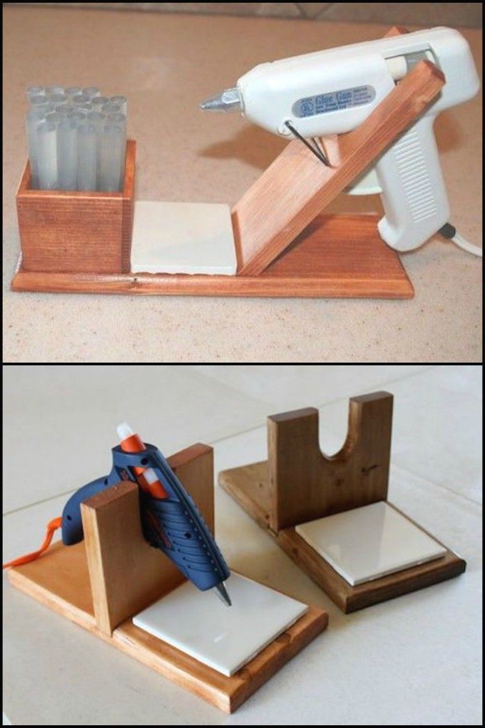 This is a good idea for any workshop where a hot glue gun is good