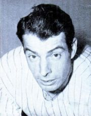 05/03/1936 – Joe DiMaggio, familiarly referred to as Joltin' Joe and The Yankee Clipper makes his major league debut for the New York Yankees.