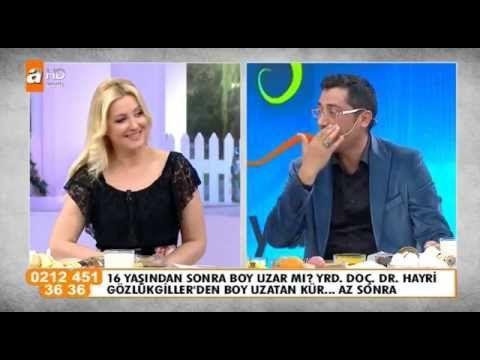 16 Yaşında Boy Uzatan Kür - Dr Hayri Gözlükgiller 23.06.2015 - YouTube