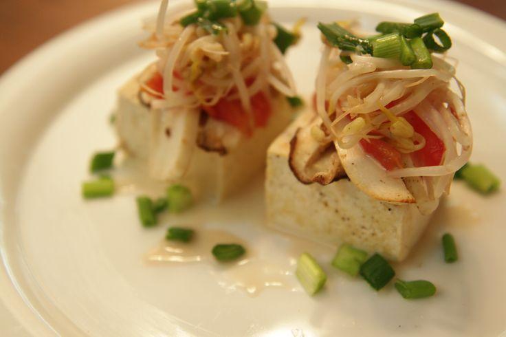 오미자소스와 두부 스테이크 만들기 (Tofu Steak with Schizandra Sauce Recipe)