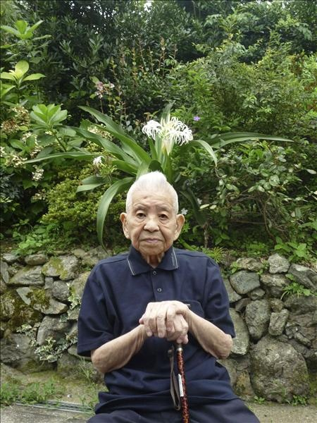 Tsutomu Yamaguchi. He survived the atomic bomb on Nagasaki where he was on a business trip. He managed to get home to Hiroshima and then survived the atomic bomb dropped on his home town days later. He lived to be 93.