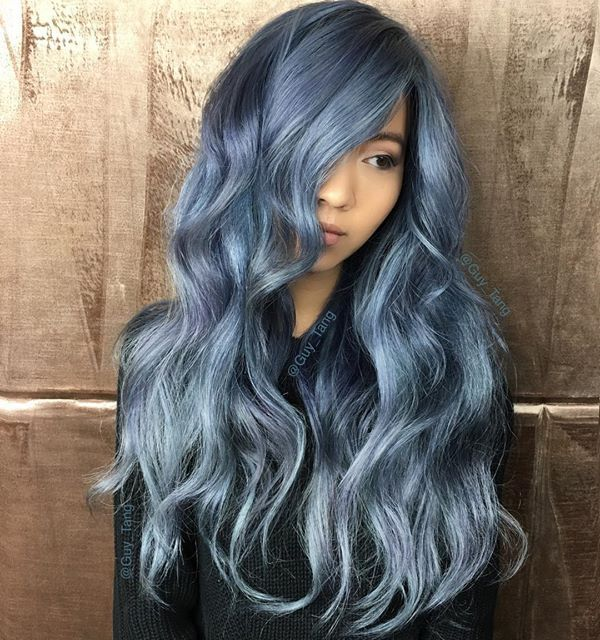 Denim Hair Is The Latest Hair Color Trend You Need To Try