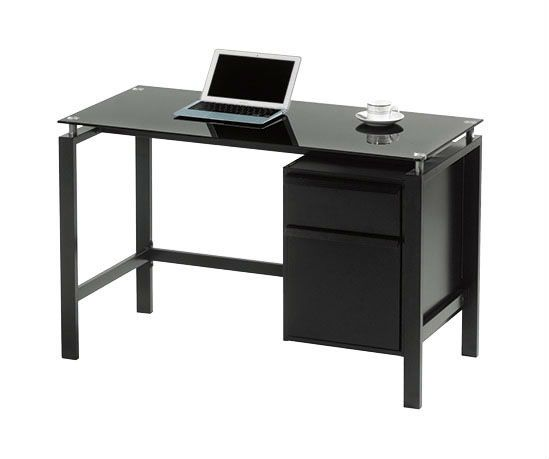 black office table. Pin By Annora On Round End Table | Pinterest Office Table, And Paint Furniture Black E