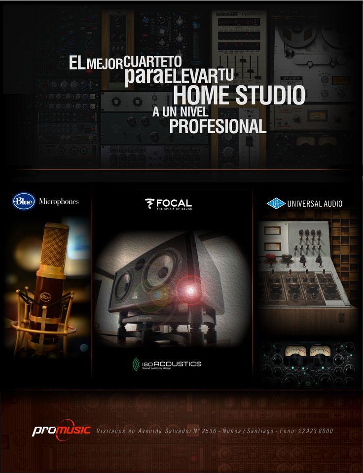 #home studio #focal #universal audio #blue microphones
