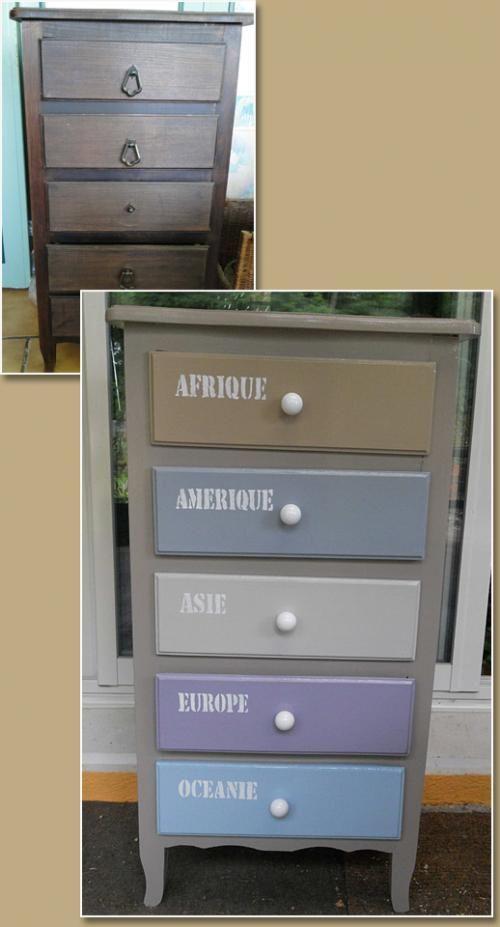 Les 109 meilleures images propos de diy meubles r cup for Meuble en vrac